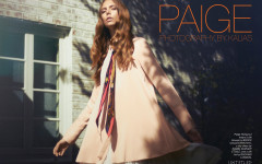 Paige - The Untitled Magazine - Photography by Kalias