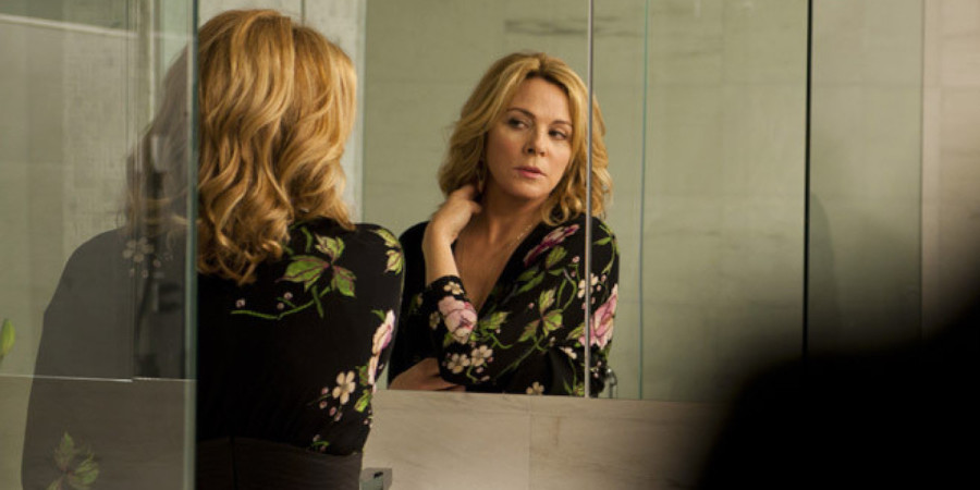 "Kim Cattrall in ""Sensitive Skin"""
