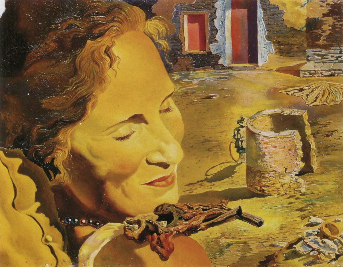 Portrait of Gala, 1933, Salvador Dali
