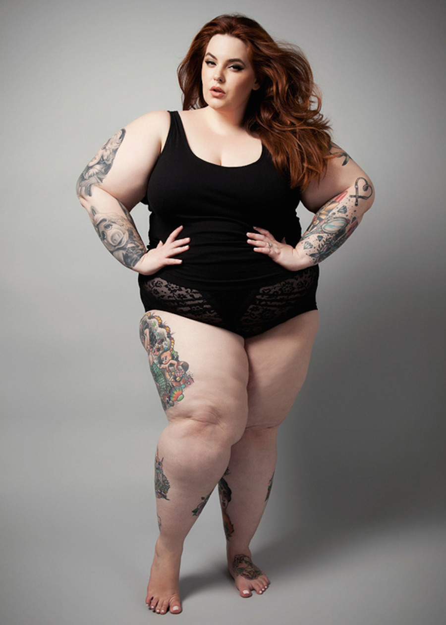 Tess Holliday for The Untitled Magazine GirlPower Issue - Photography by Indira Cesarine