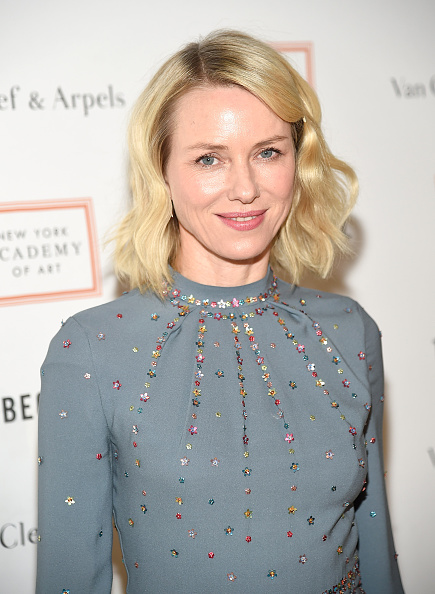 NEW YORK, NEW YORK - APRIL 04: Naomi Watts attends New York Academy Of Art's Tribeca Ball 2016 on April 4, 2016 in New York City. (Photo by Kevin Mazur/Getty Images)