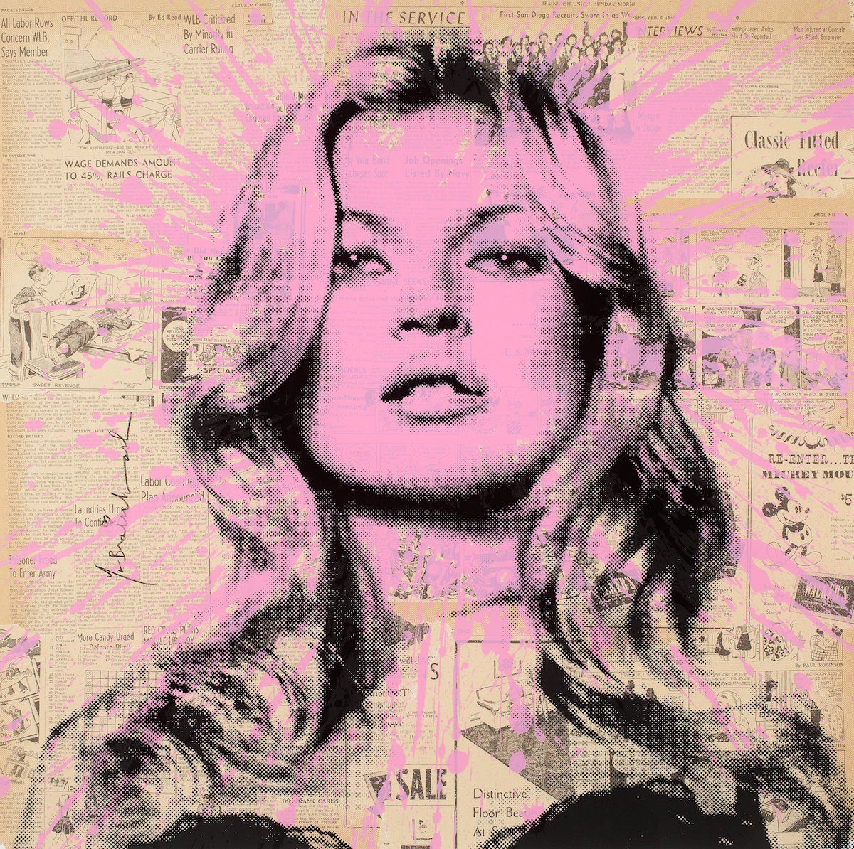 """Cover Girl"" by Mr. Brainwash"