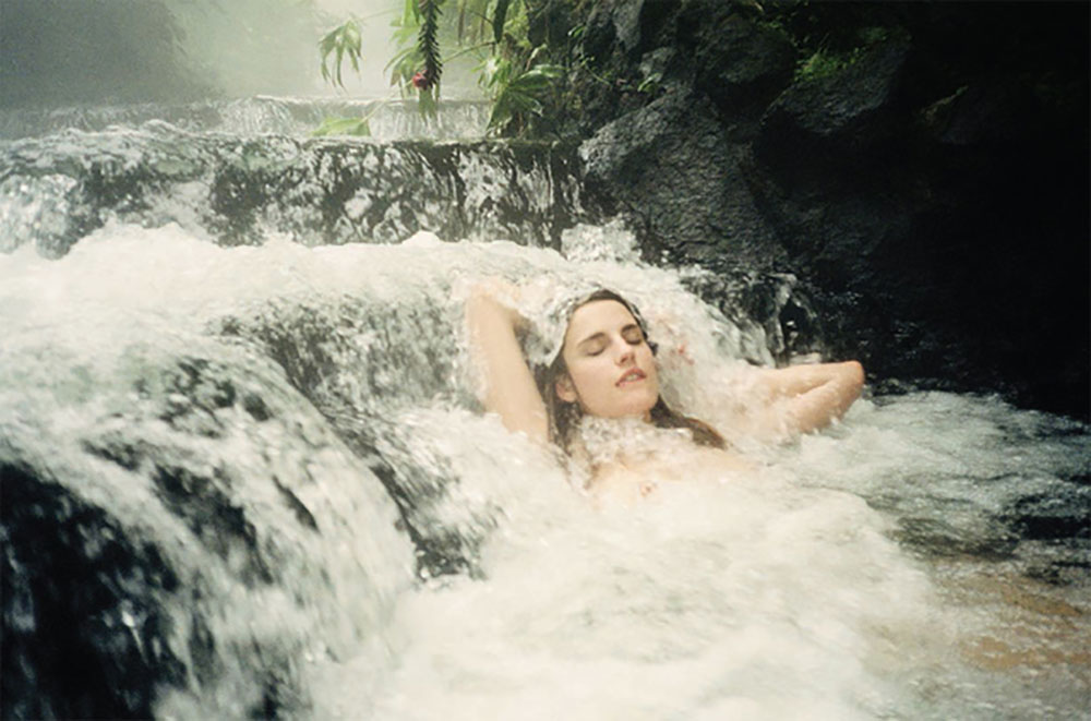 Featured in 'In The Nude: The Female Gaze On The Nude: 'Ana in Costa Rica' by Amanda Charchian, 2012