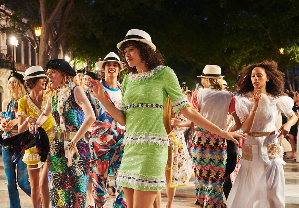 The Chanel Cruise 2016/17 collection in Havana, Cuba.