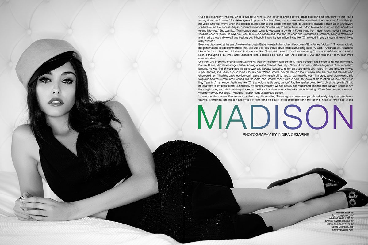 Madison Beer - Indira Cesarine - The Untitled Magazine_1
