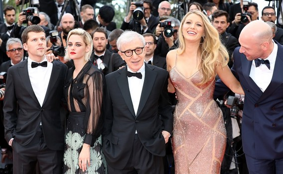 Woody Allen Cannes 2016