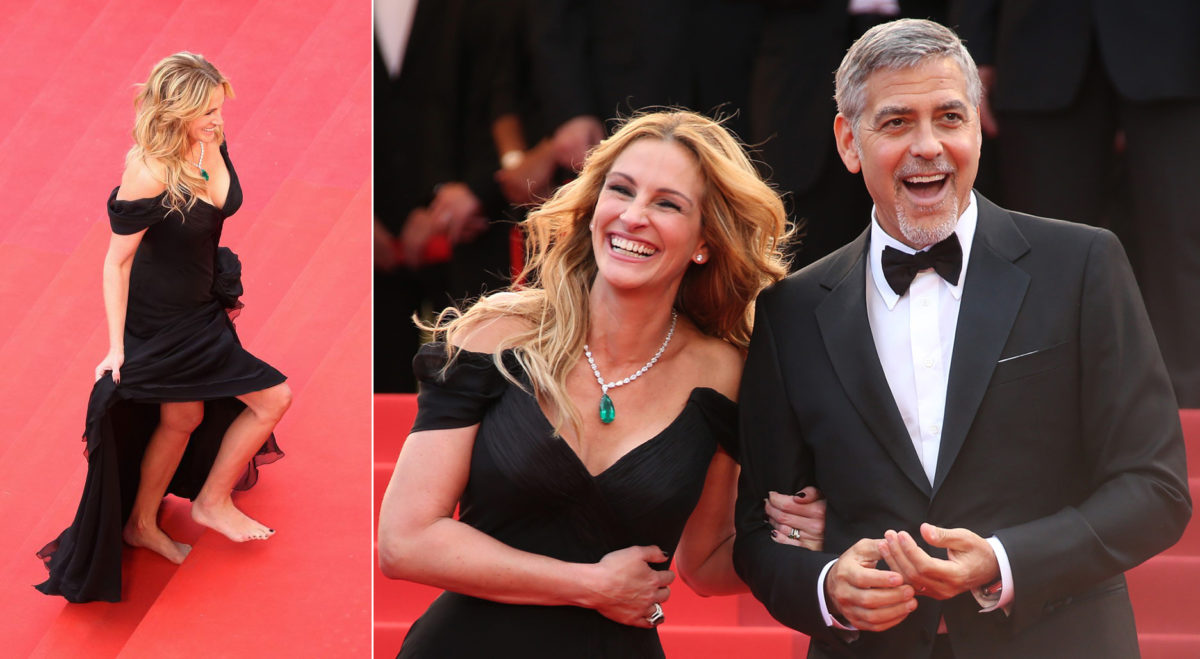 julia Roberts George Clooney Cannes 2016