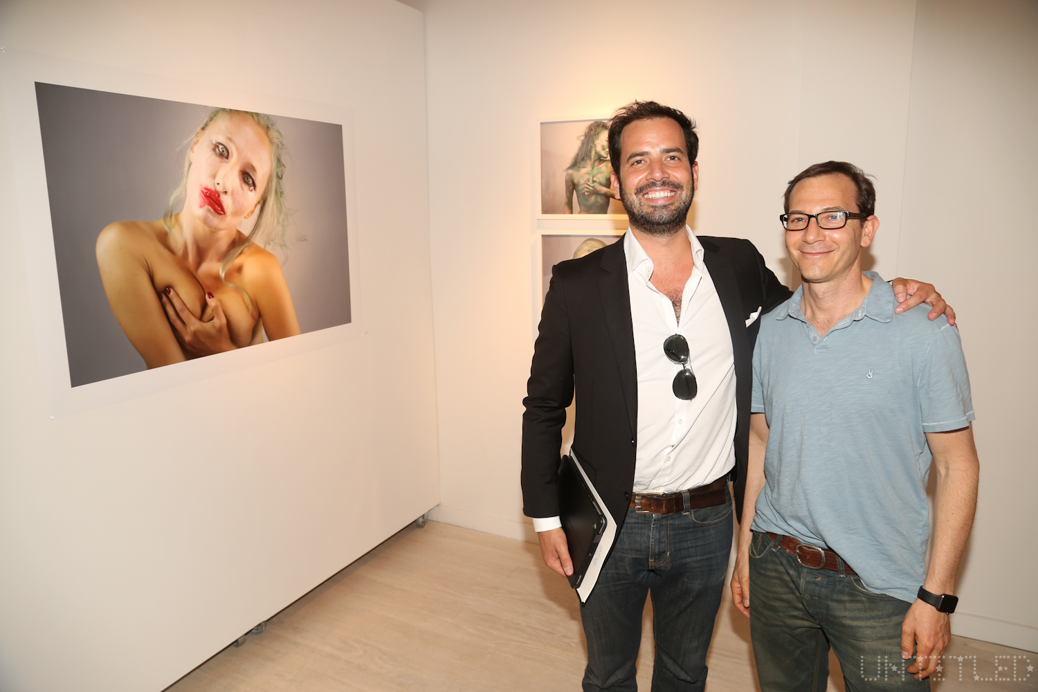 """The Untitled Space Exhibit Opening """"Cardiac Insomniac: A Solo Show of Works by ANGE"""" Photography by Dustin Wayne Harris"""