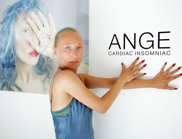 """Cardiac Insomniac"" A Solo Show of Works by ANGE aka Angela Donhauser - June 2016 - The Untitled Space gallery, New York"