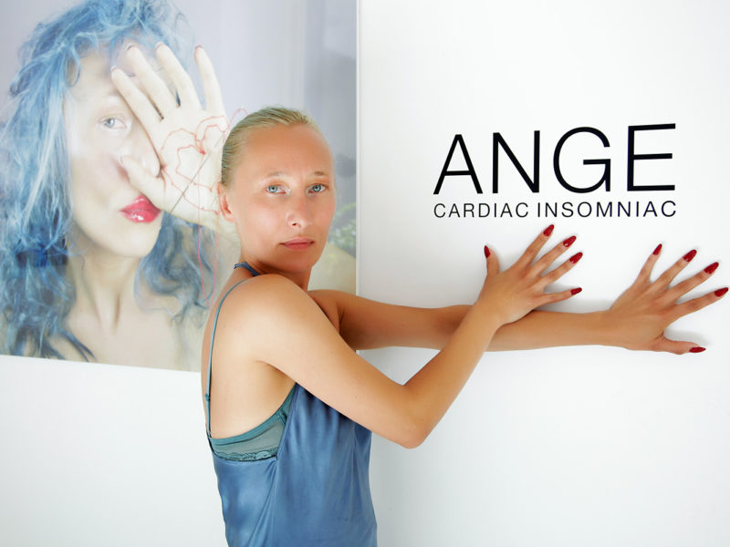 """""""Cardiac Insomniac"""" A Solo Show of Works by ANGE aka Angela Donhauser - June 2016 - The Untitled Space gallery, New York"""