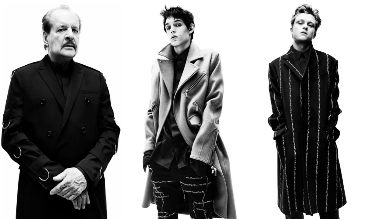 Larry Clark, Dylan Roques and Rod Paradot will also be featured in the Dior Homme Autumn/Winter 2017 Campaign. Courtesy of Willy Vanderperre.
