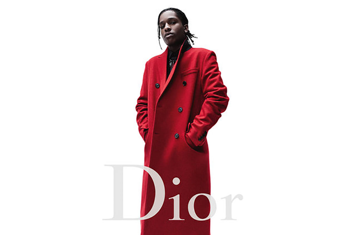 A$AP Rocky is the meeting point of streetwear and high-end. Courtesy of Dior.
