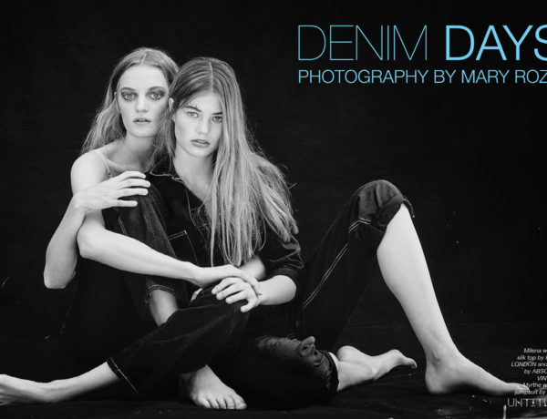 Denim Days - The Untiled Magazine - Photography by Mary Rozzi