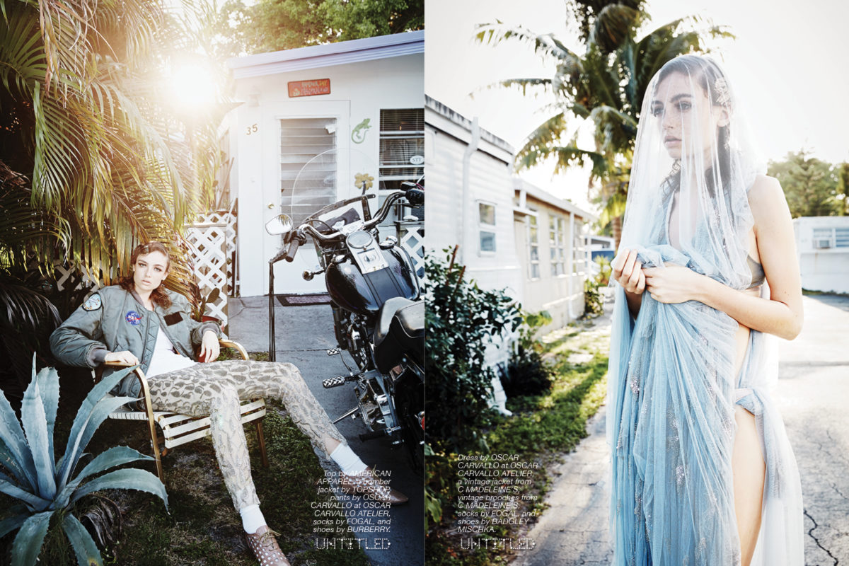 """Miami Lady"" Photography by Caroline Knopf for The Untitled Magazine"