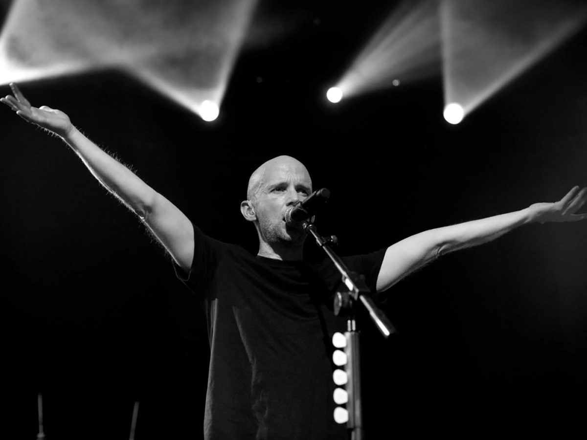 """Moby's popularity took off after the rerelease of """"Play"""" in 2000."""