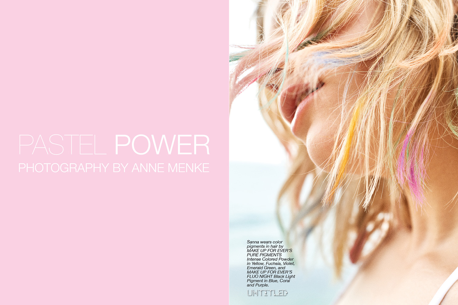 Pastel Power - The Untitled Magazine - Photography Anne Menke
