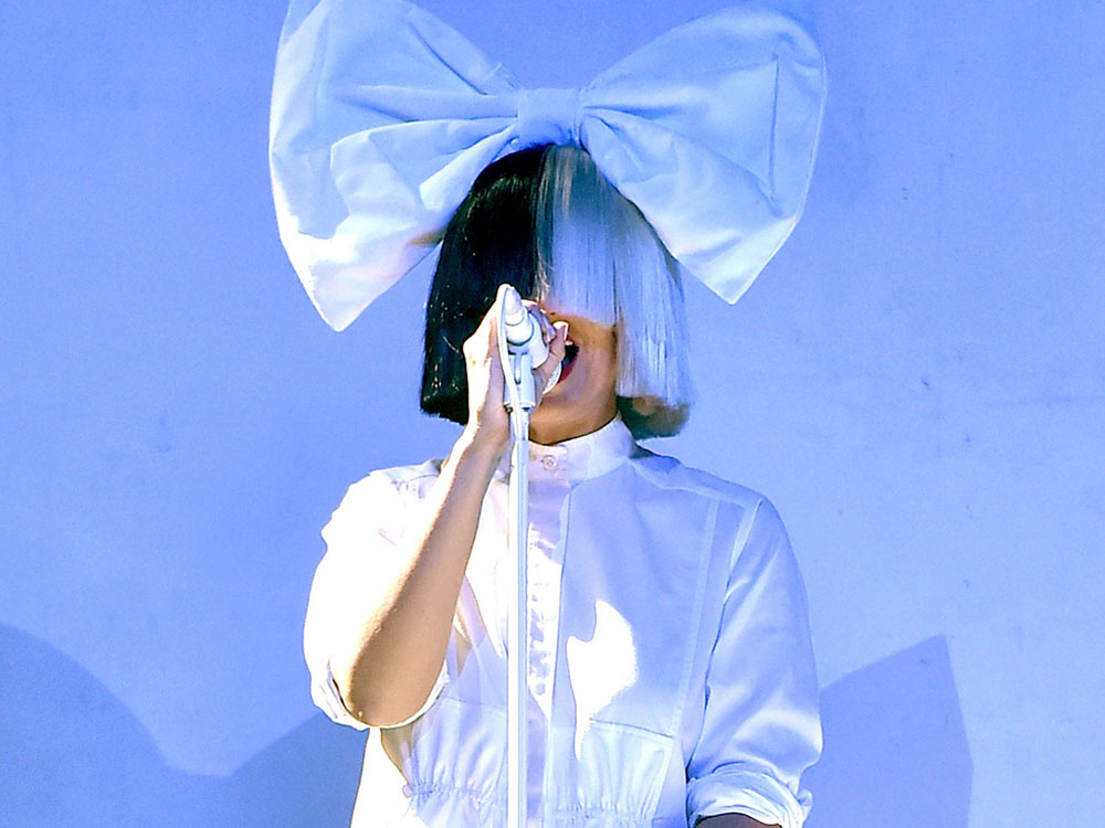 Sia performing at Coachella 2016