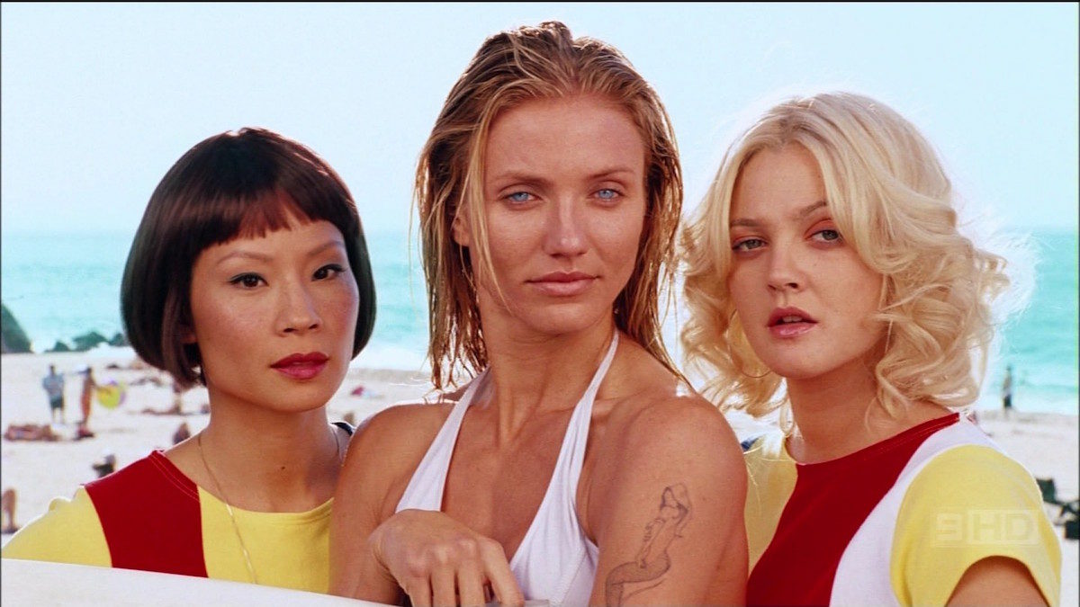 Charlie's Angels (2000) From the left: Lucy Lui, Cameron Diaz, and Drew Barrymore