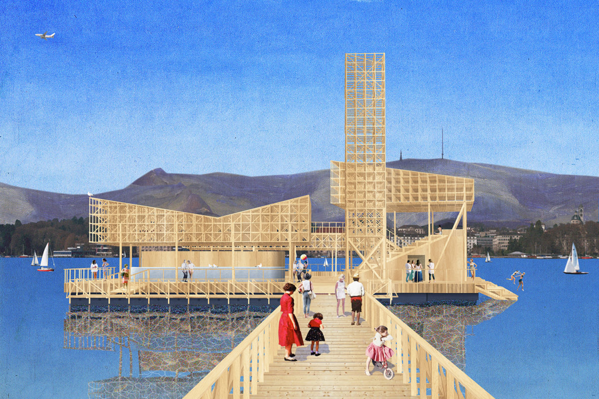 Rendering of Pavillon of Reflections for Manifesta 11. © ETH Studio Emerson. Courtesy of Manifesta.