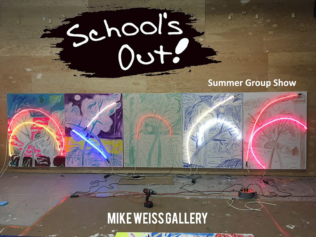 SCHOOL'S OUT! at the Mike Weiss Gallery