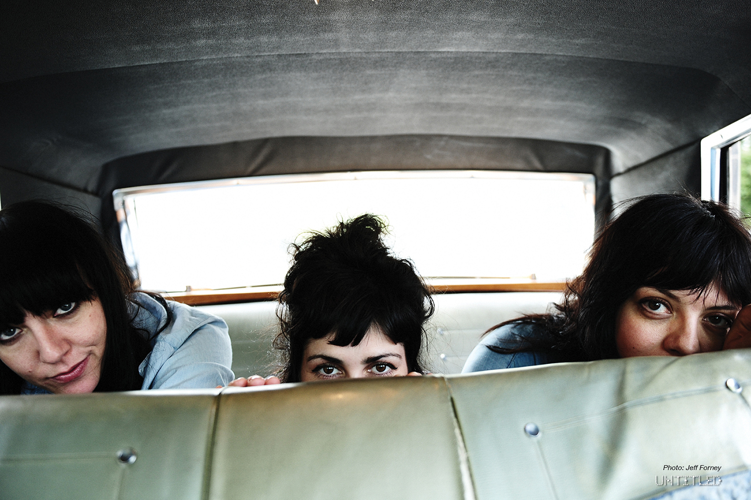 The Coathangers - The Untiled Magazine - Photography by Jeff Forney