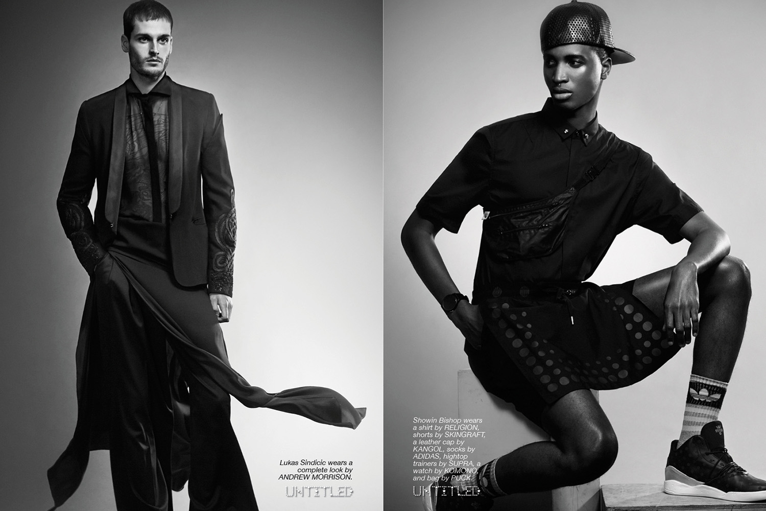 Los Hombres - The Untiled Magazine - Photography by Michele Aboud