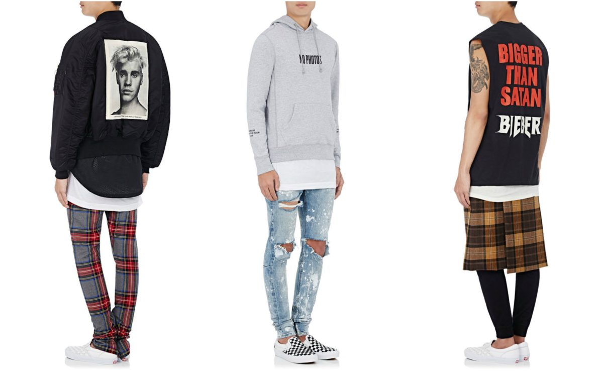 Purpose Tour XO Barneys New York Collection / Courtesy of Barneys New York