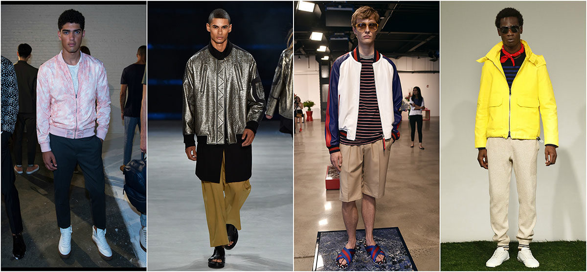 Menswear_Bombers Collage