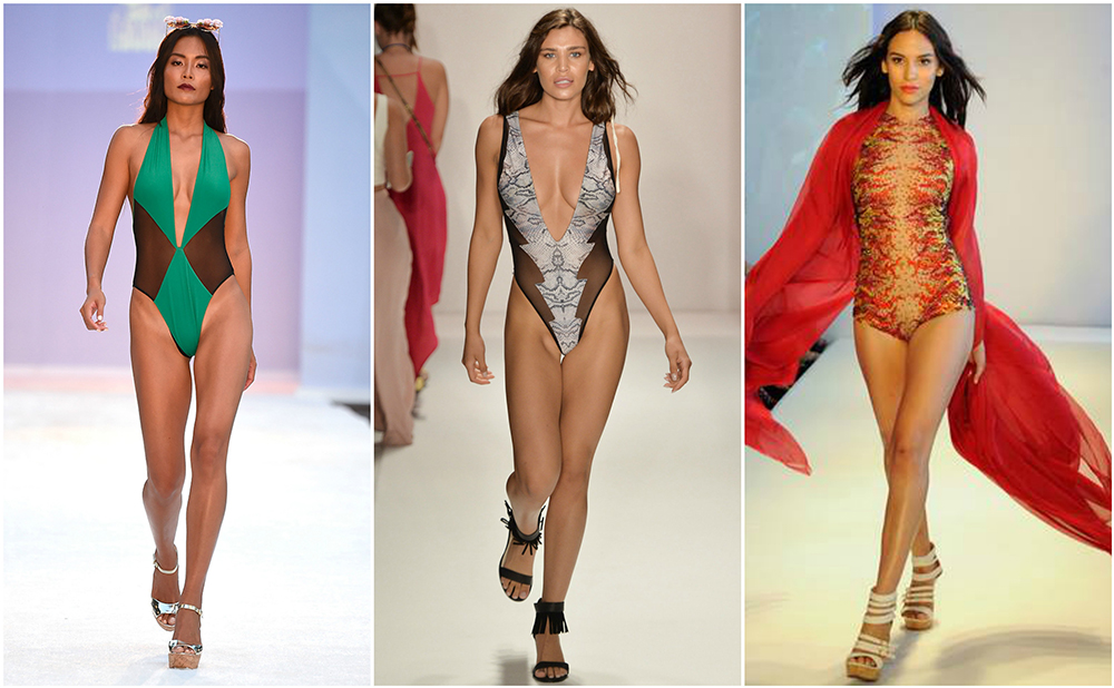 Left to Right: Filthy Haanz, Sirenes De Soleil and Yas Couture by Elie Madi.