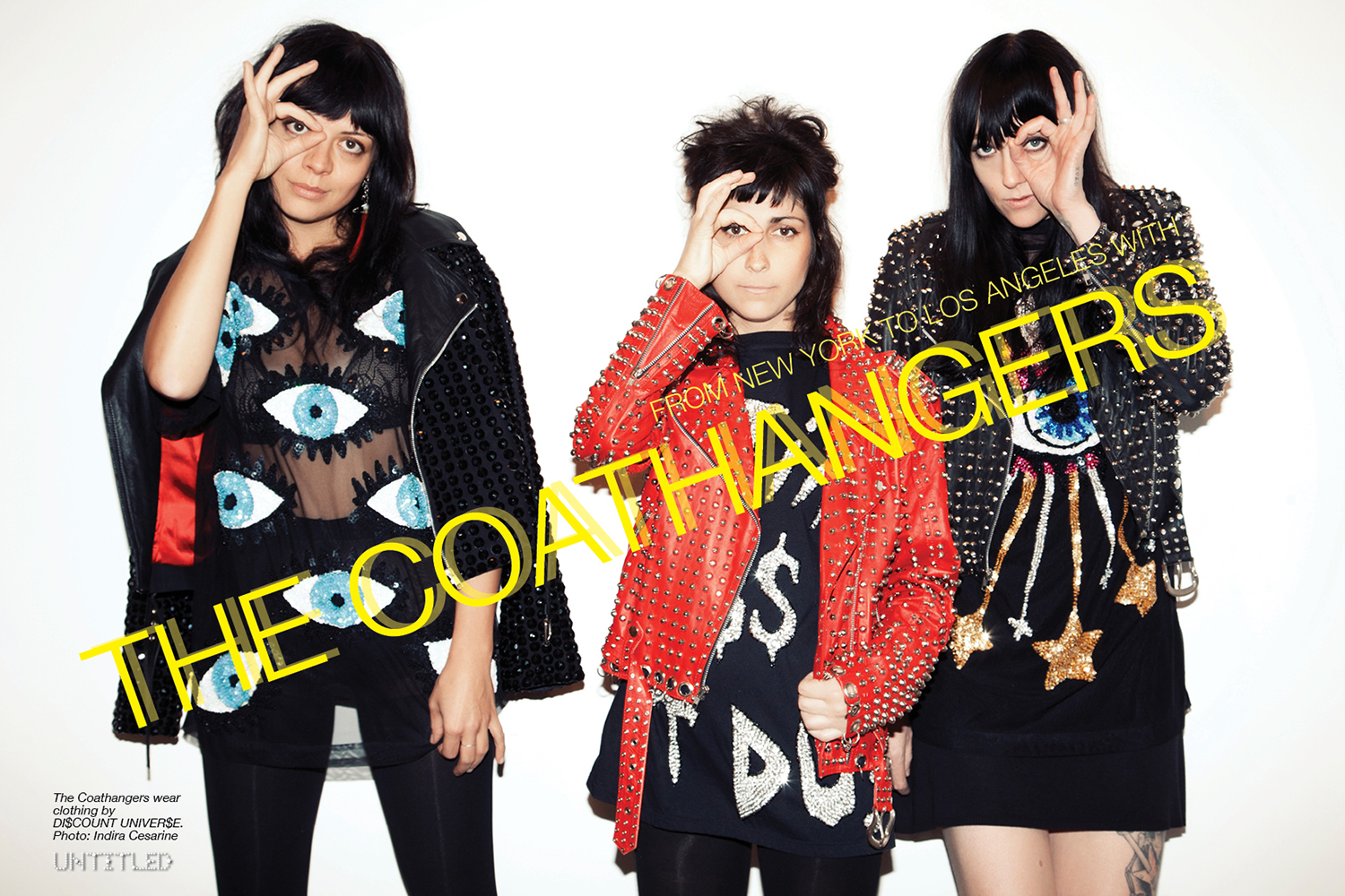 The Coathangers - The Untiled Magazine - Photography by Indira Cesarine