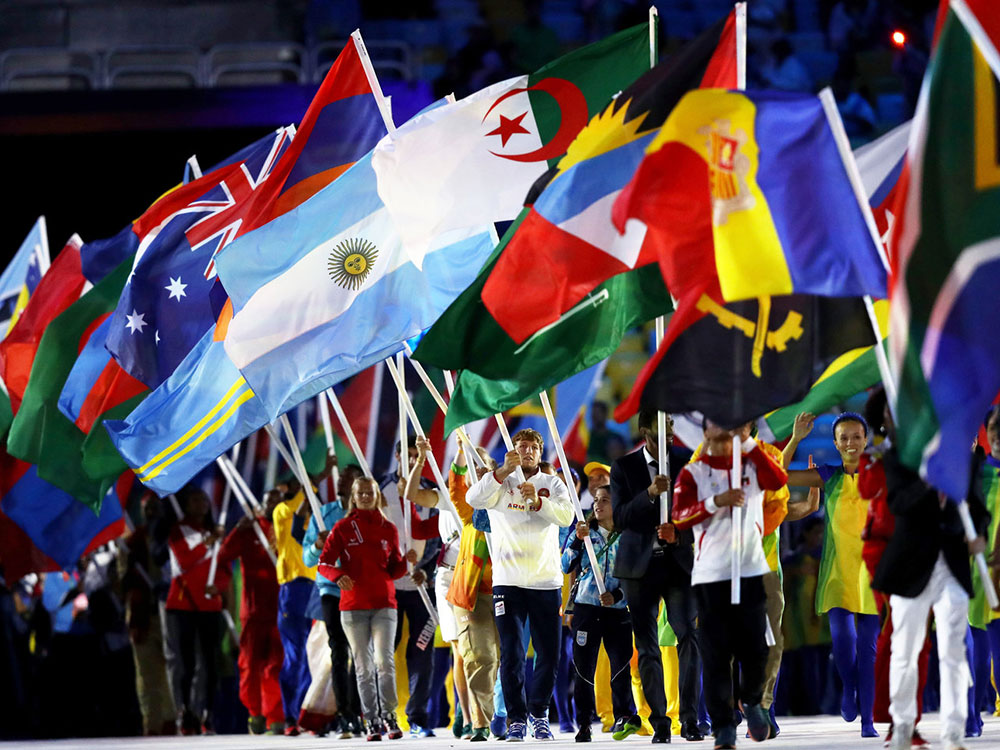 The Closing Ceremony of the 2016 Rio Olympics. Image courtesy of Getty.