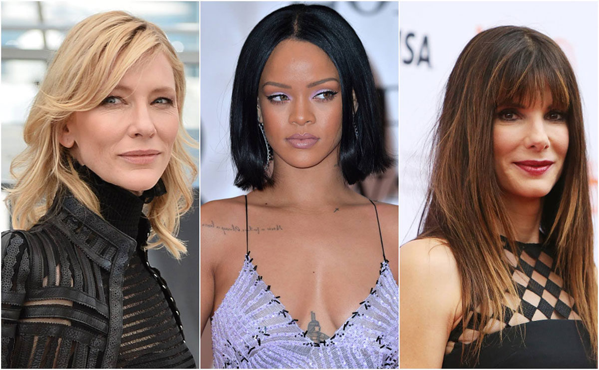 Cate Blanchett, Rihanna, and Sandra Bullock have all been confirmed for Oceans 8.