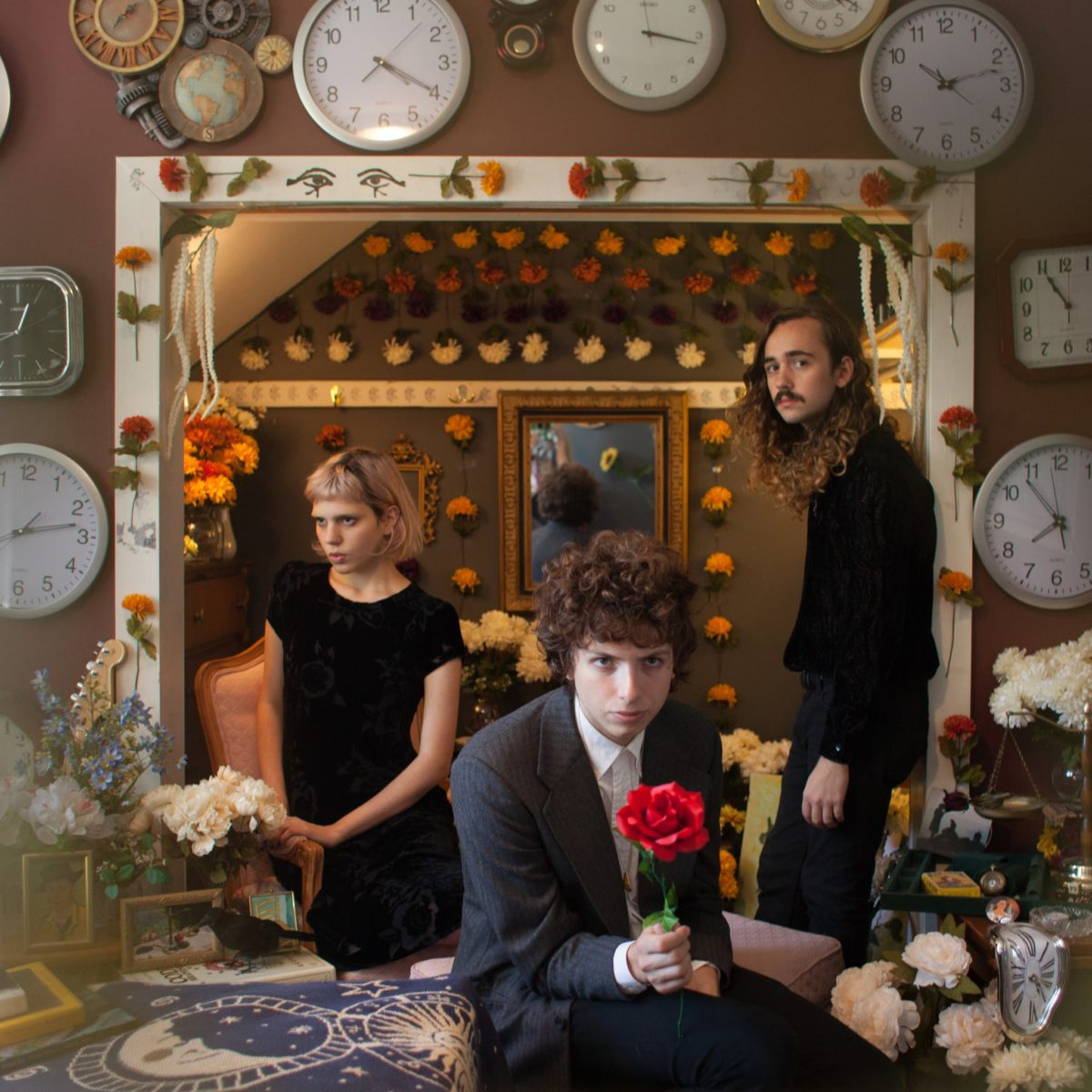 The cover of Sunflower Bean's latest album, 'Human Ceremony.' Photograph by Ruby Maxwell, courtesy of @Sunflowerbean Facebook.