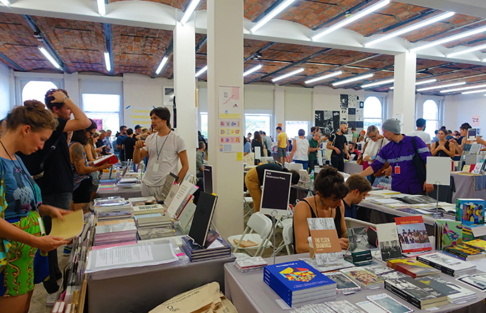 The tenth annual NY Art Book Fair at MoMA PS1. Image courtesy of MoMA PS1.