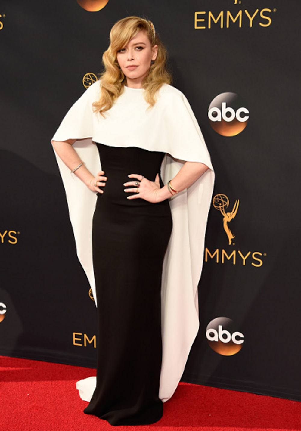 Natasha Lyonne in Sally Lapointe at the 2016 Emmy Awards. Image courtesy of Kevin Mazur/Getty.