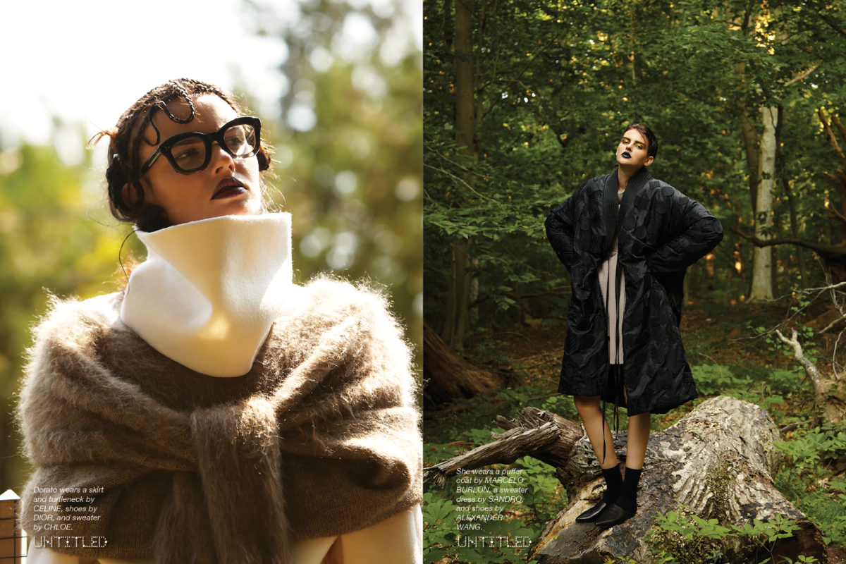 """Into The Woods"" Photographed by Marc Baptiste for The Untitled Magazine"