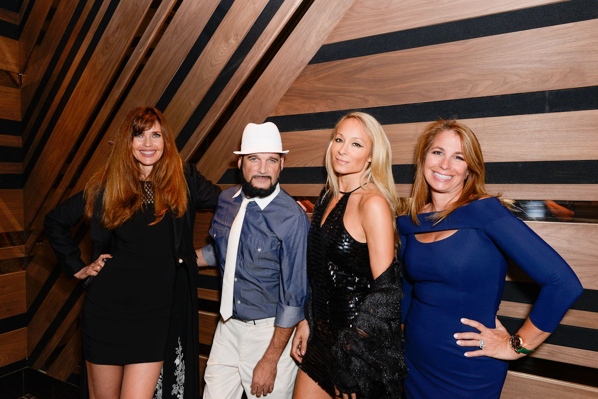 NEW YORK, NY - SEPTEMBER 13:  Carol Alt, Philllip Bloch, Indira Cesaring and Jill Zarin attend Interview & Topshop Celebrate the Interview September Issue on September 13, 2016 in New York City.  (Photo by Presley Ann/Patrick McMullan via Getty Images)