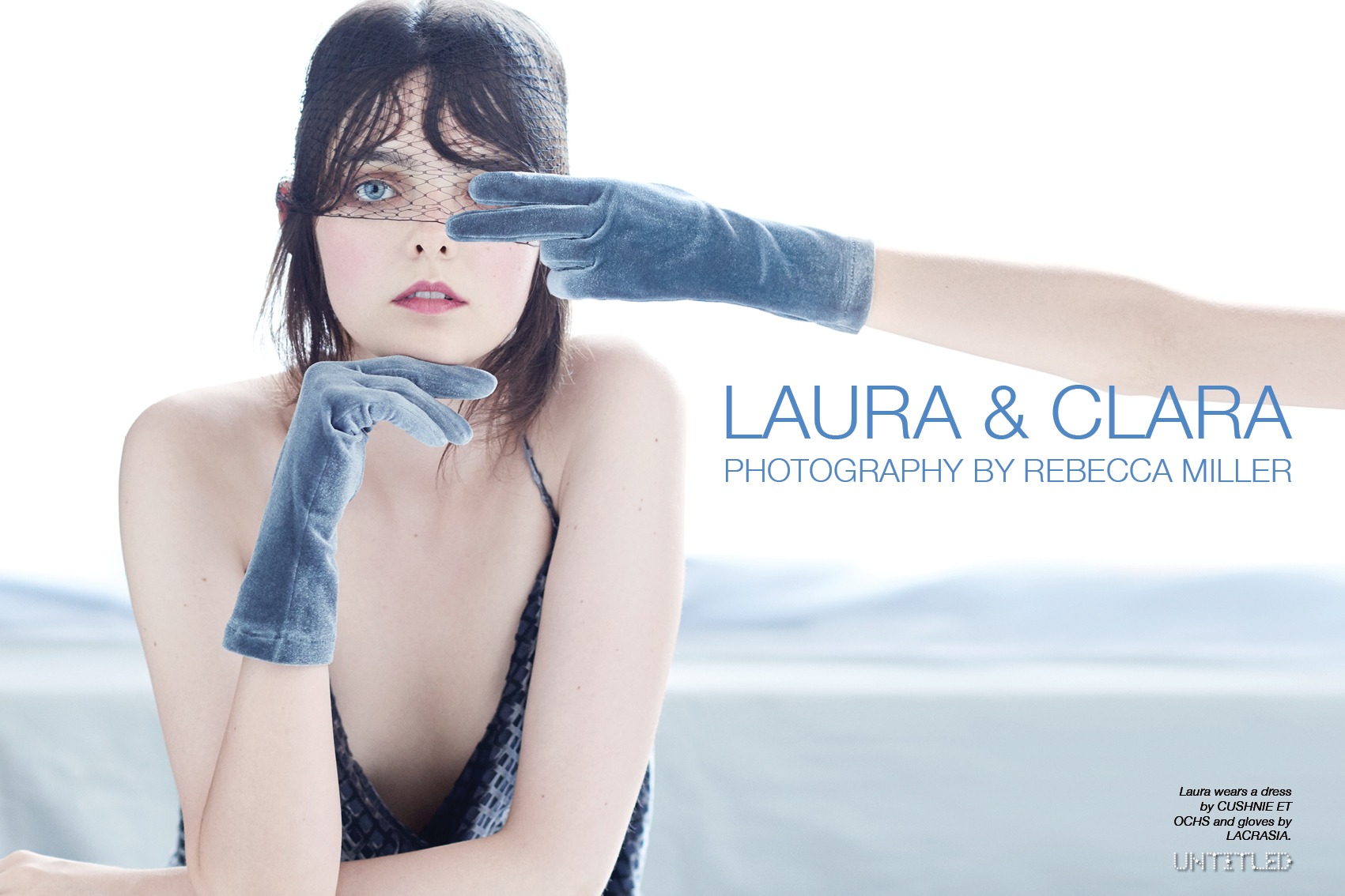Laura & Clara - The Untitled Magazine - Photography by Rebecca Miller