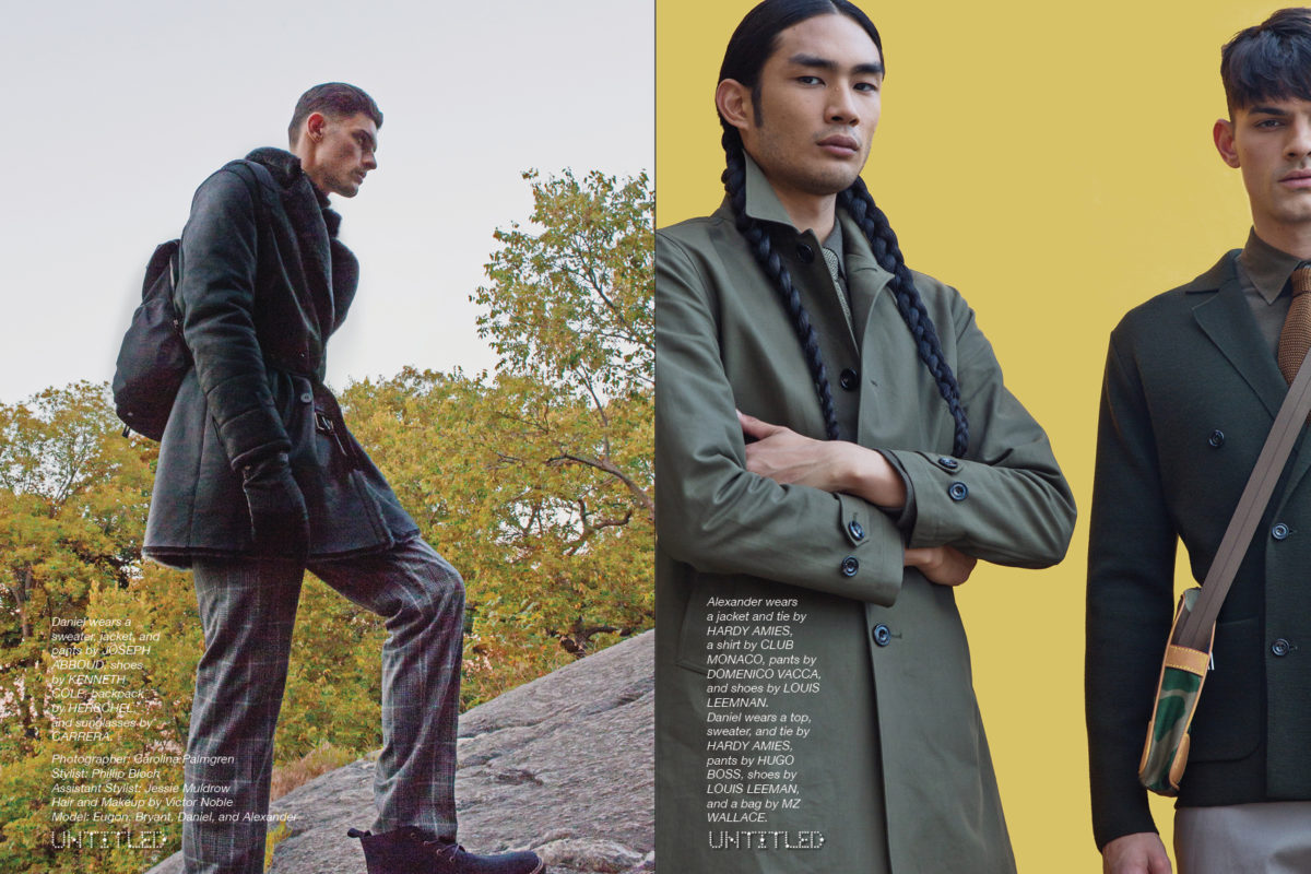 MILITARY MEN - The Untitled Magazine Fall Fashion Exclusive - Photography by Carolina Palmgren - Styling by Phillip Bloch