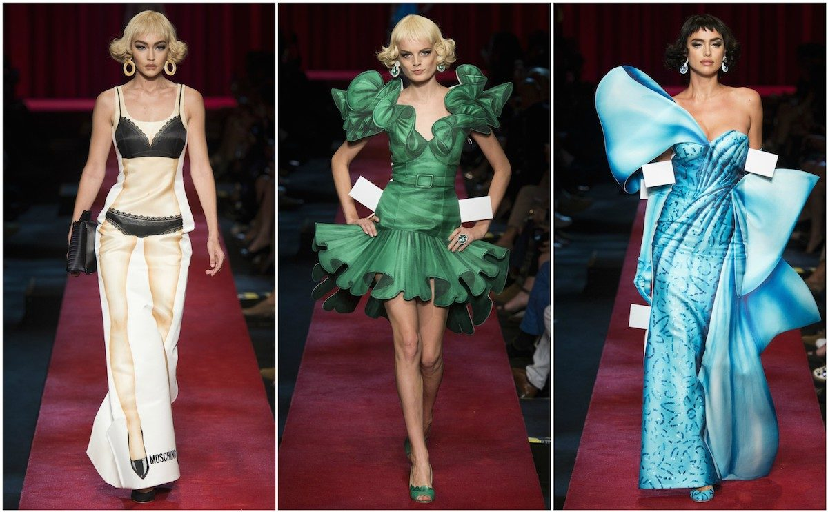 Moschino SS'17, images courtesy of Vogue.
