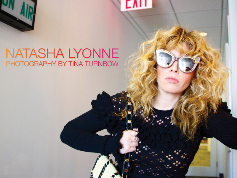 Actress Natasha Lyonne photographed for The Untitled Magazine by Tina Turnbow