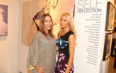 """SELF REFLECTION"" Exhibit Opening, The Untitled Space Gallery, New York.  Photography by Dustin Wayne Harris"