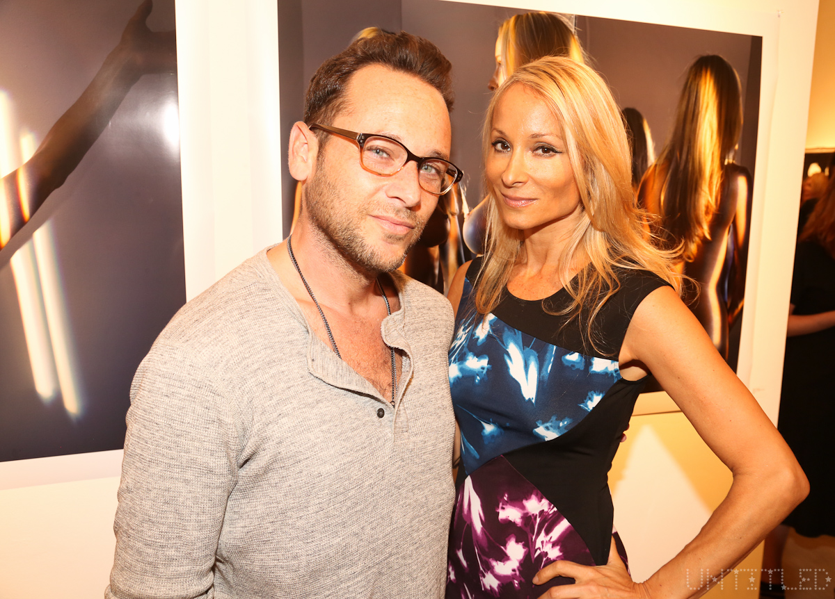 """""""SELF REFLECTION"""" Exhibit Opening, The Untitled Space Gallery, New York.  Photography by Dustin Wayne Harris"""