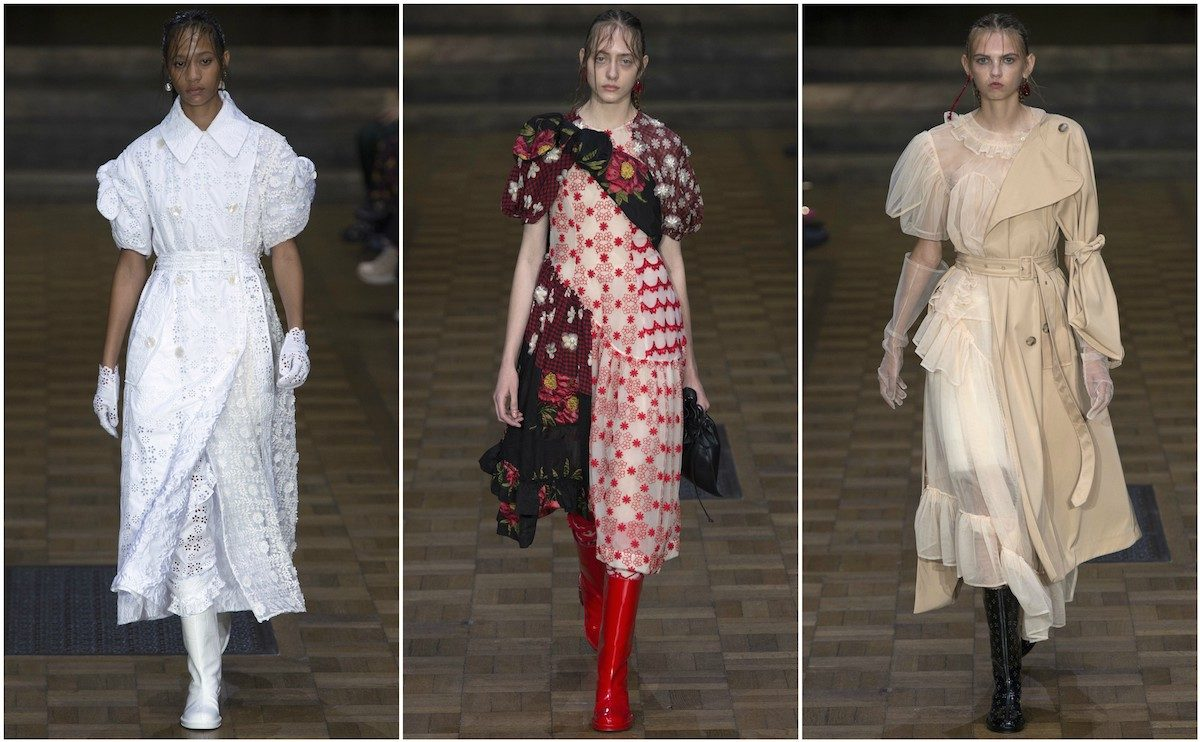 Simone Rocha SS'17. Images courtesy of Vogue.