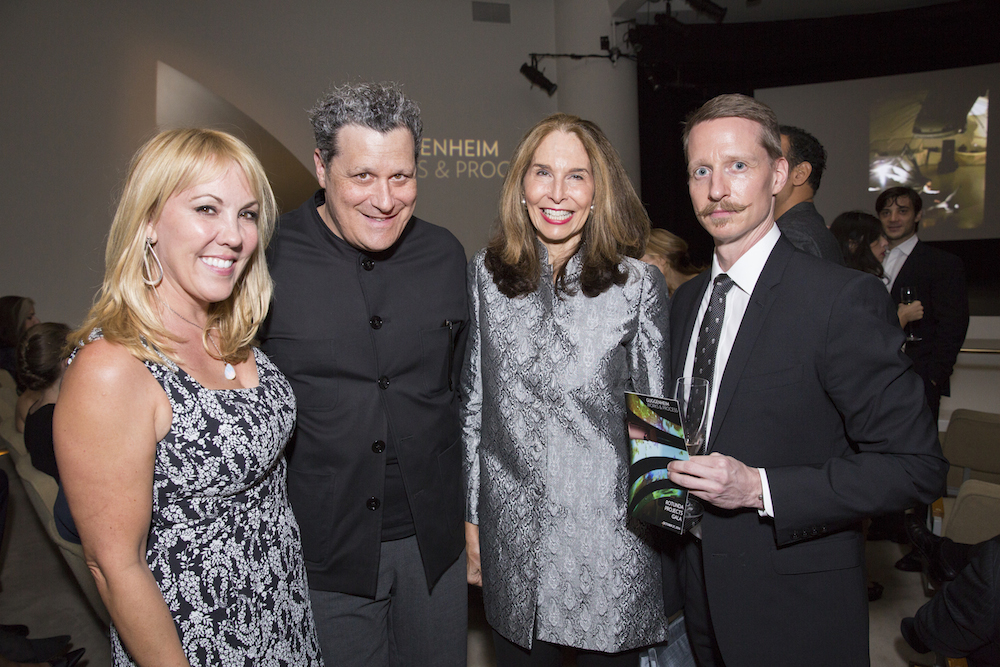 Isaac Mizrahi and guests at the Works and Process Rotunda gala. Image courtesy of the Guggenheim.
