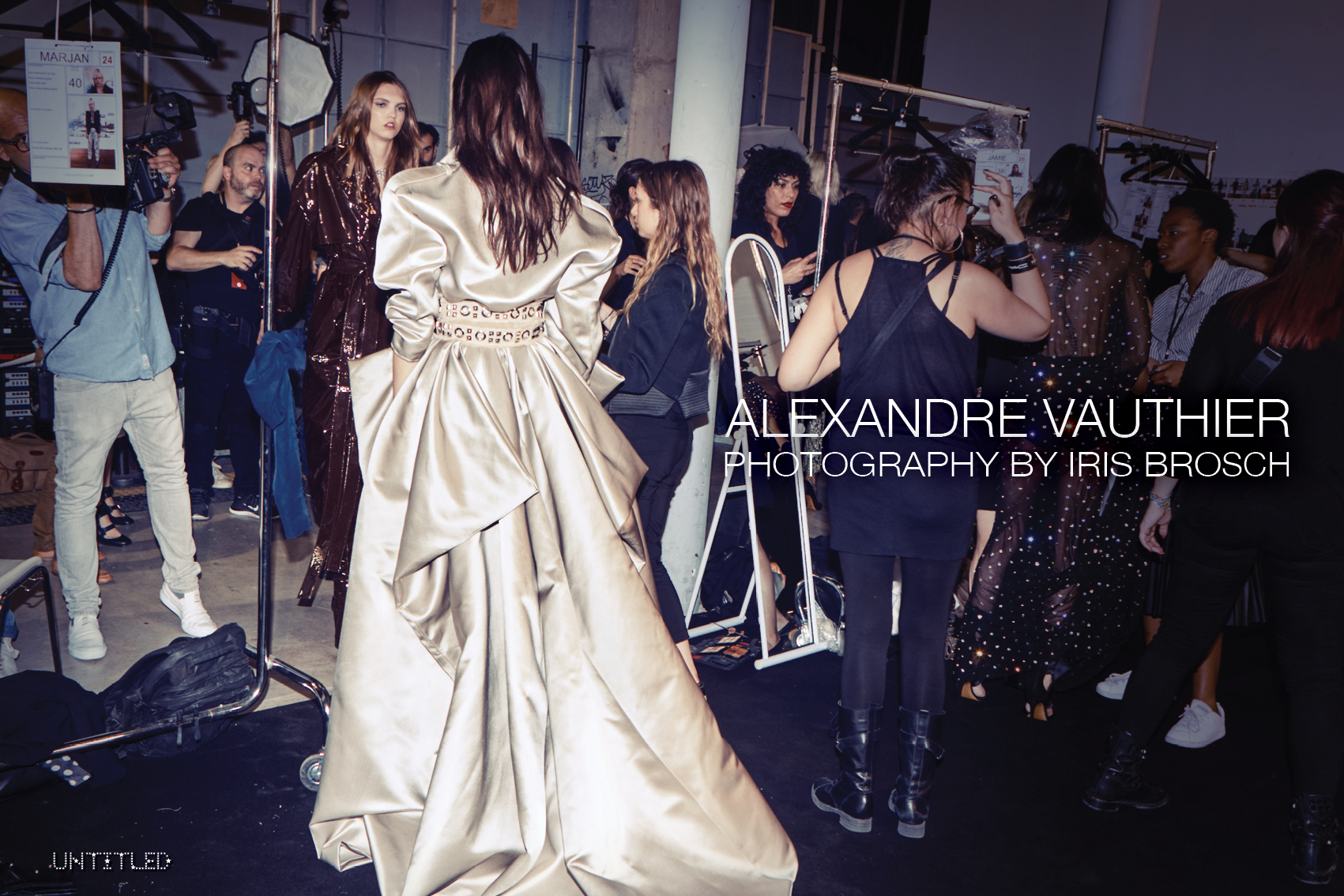 Alexandre Vauthier - Haute Couture - The Untiled Magazine - Photography by Iris Brosch