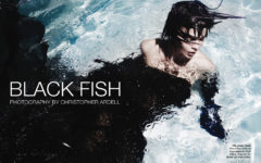 Black Fish - The Untiled Magazine - Photography by Christopher Ardell