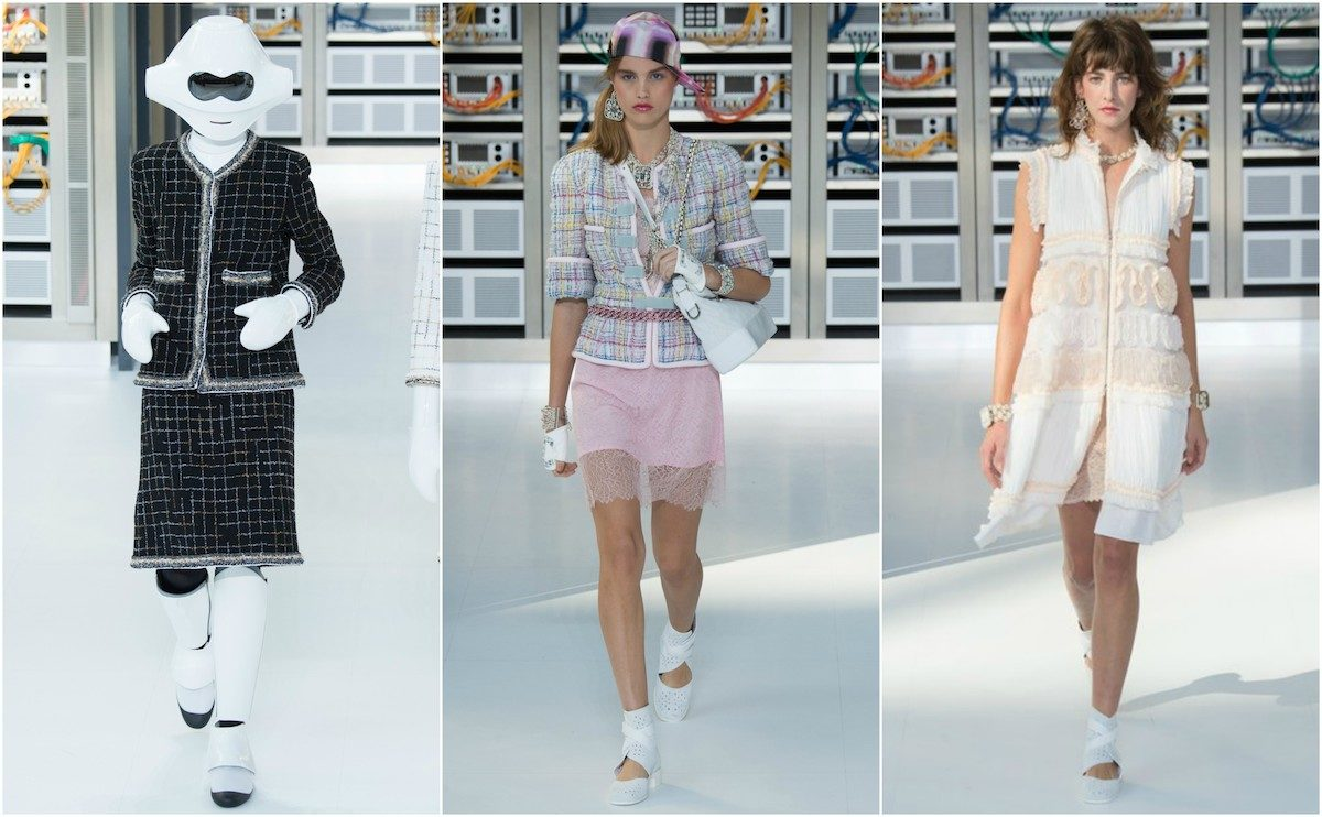 Chanel SS'17, images courtesy of Vogue.