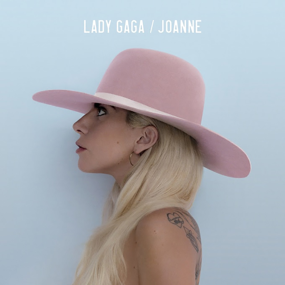 Lady Gaga's 'Joanne'. Image courtesy of Streamline Records and Interscope Records.