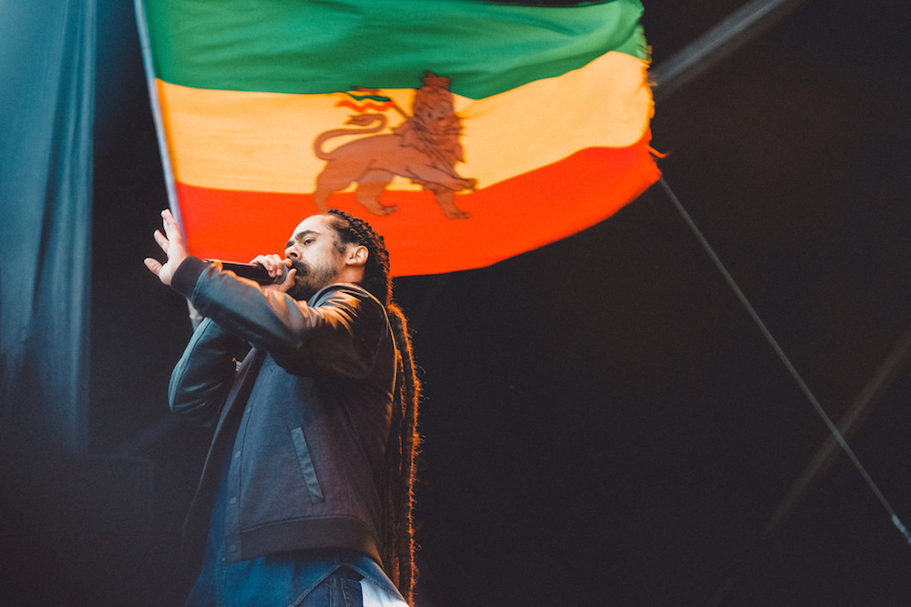 Damien Marley at The Meadows 2016, image courtesy of The Meadows.